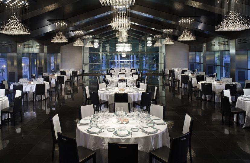Banquete en salón