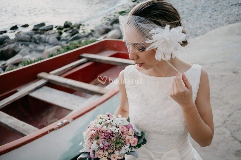 Flores delicadas para novias