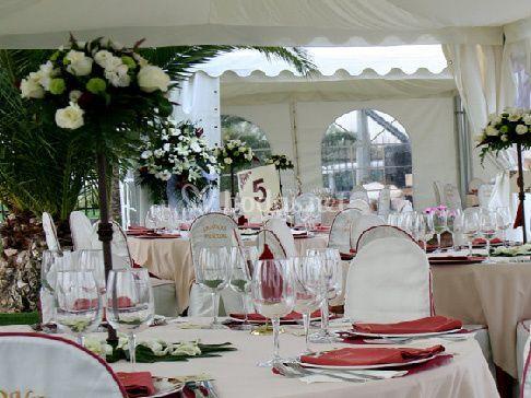 Montajes banquetes