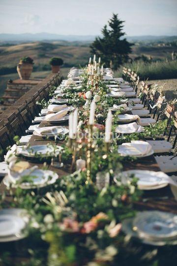 Mesas que invitan