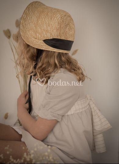 Vestido con pecherin