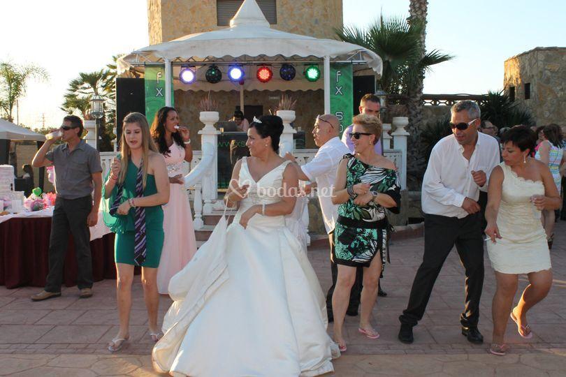 Fiesta en vuestra boda