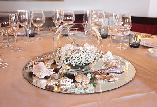 Decoración de banquete