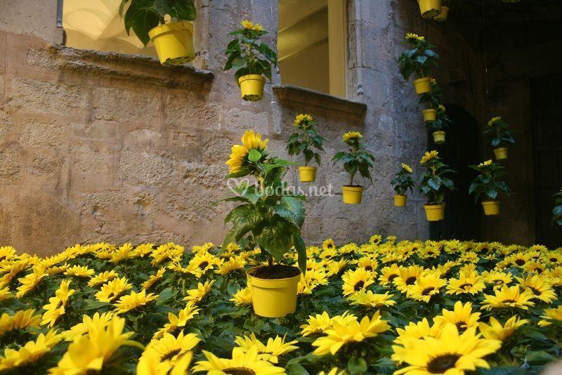 Ornamentaci N Con Flores Y Plantas De Paisajes Ef Meros