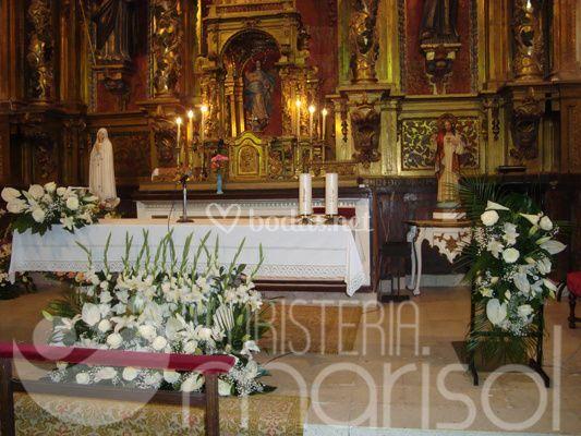 Altares decorados