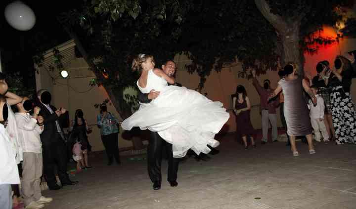 Alumnos de baile para bodas