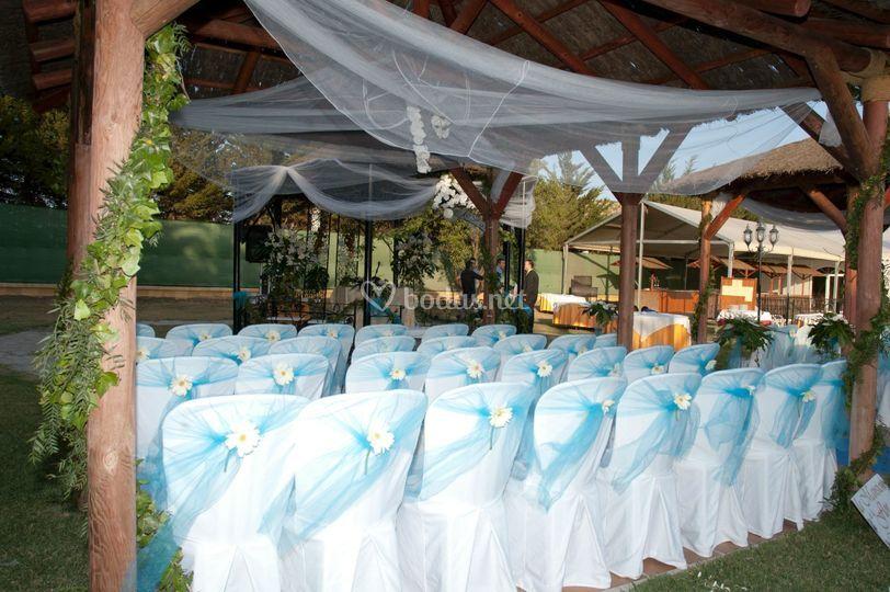 Boda civil ceremonia