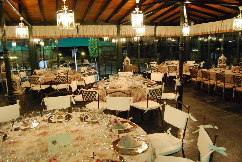 El cenador, para bodas íntimas