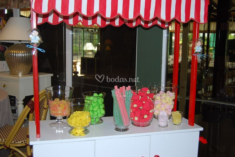 Carritos de chuches