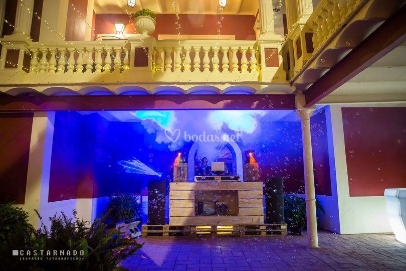 Patio interior zona de baile de huerto barral boluda - Huerto barral boluda ...