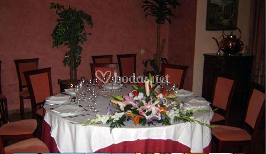 Decoración para banquete