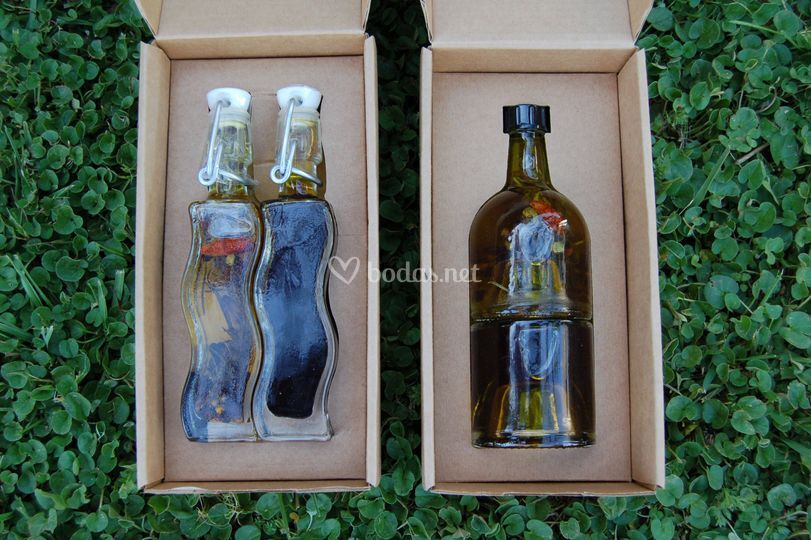 Botellas onduladas
