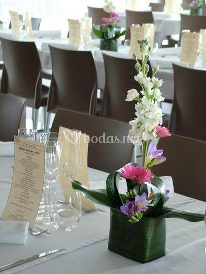 Centros para mesas de restaurante de la vie en rose foto 11 for Centros de mesa para restaurantes