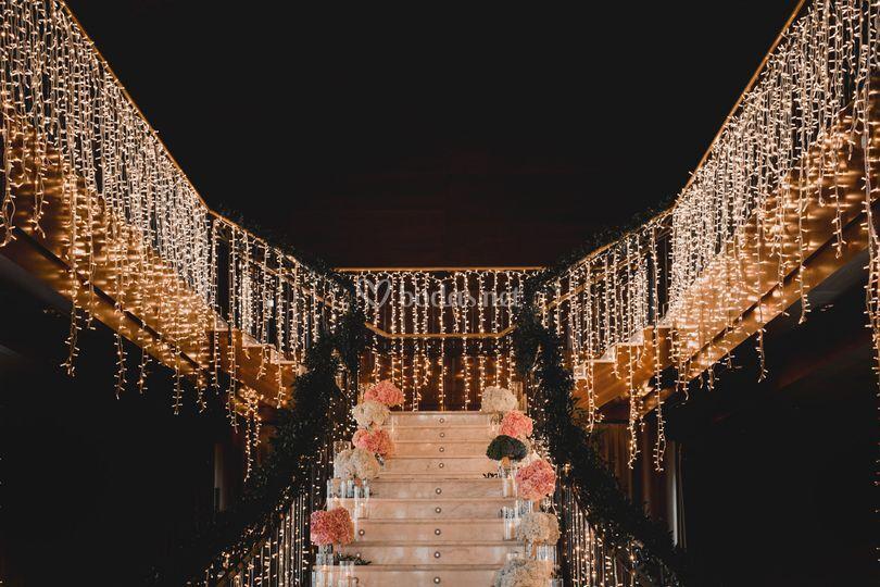 Decoración espacios boda