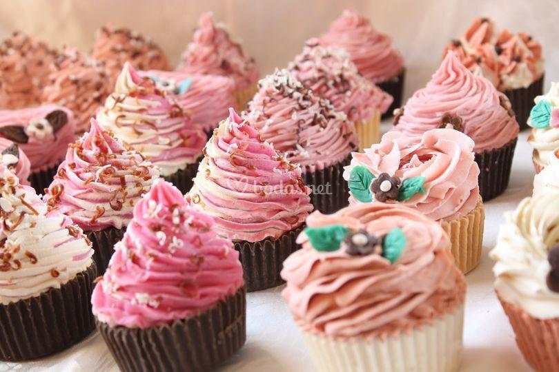 Jabones cupcakes