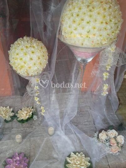 Floristería para boda