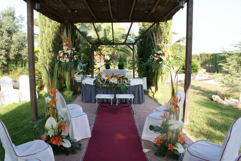Flores para boda civil