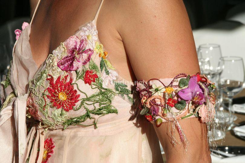 Brazalete floral