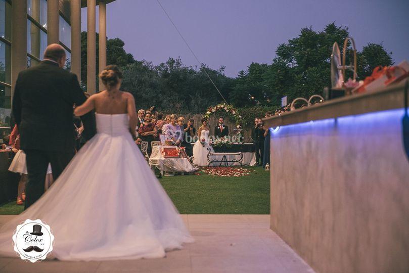 Esperando a la novia