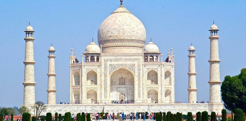 Taj Mahal-La India