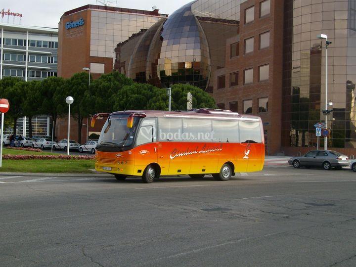 Alquiler minibuses alcobendas