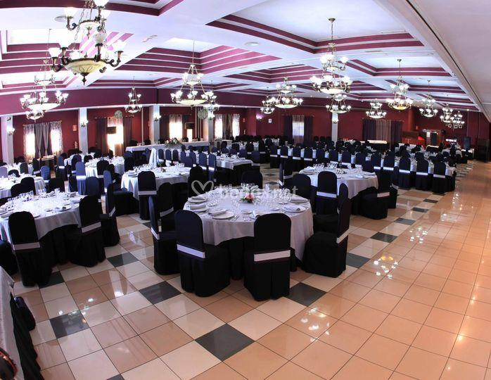 Sala Reina (550 comensales)