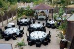Banquete terraza de Santo Domingo Jardines