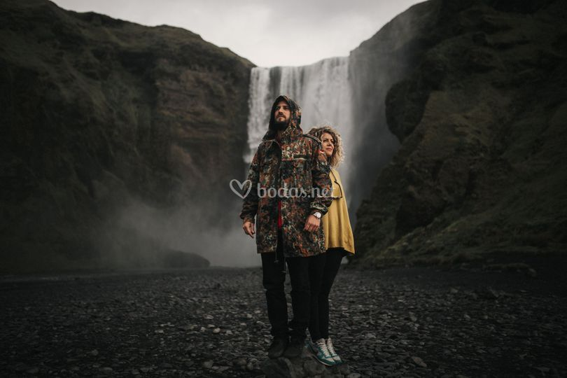 Love session en Islandia