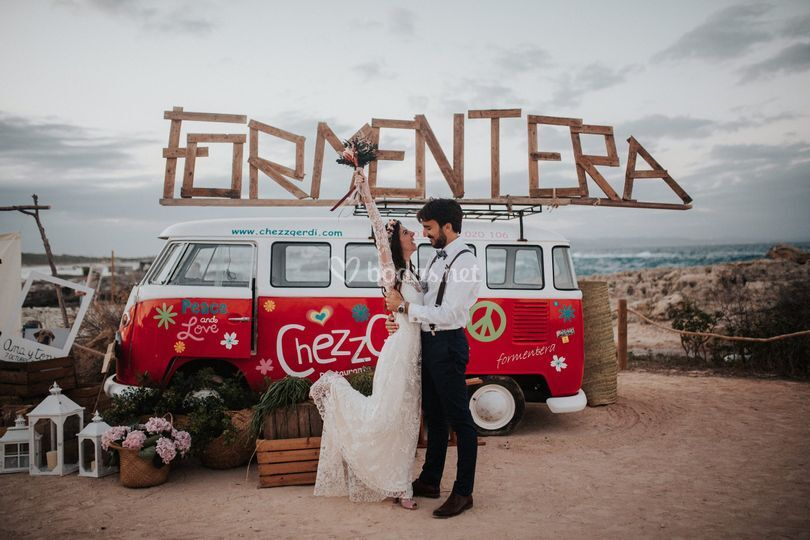 Boda en Formentera