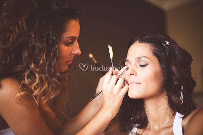 Maquillaje de Yolanda
