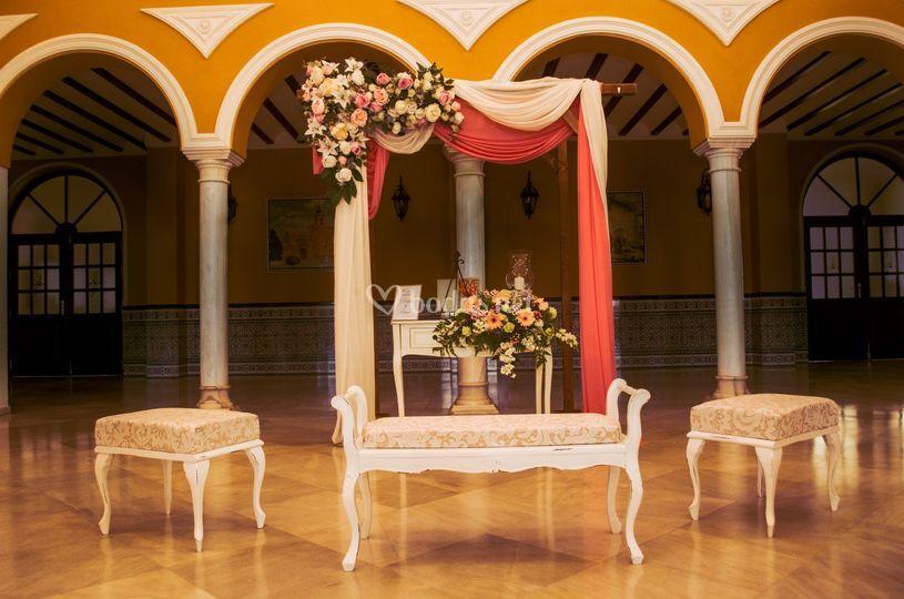 Altar de celebración