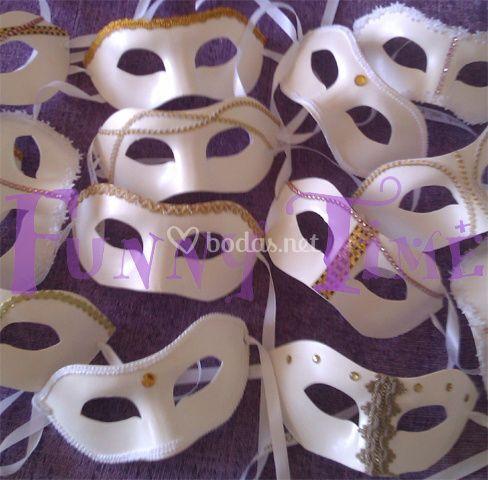 Máscaras para bodas de mujer