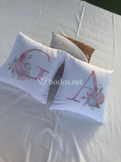 Cojines personalizables