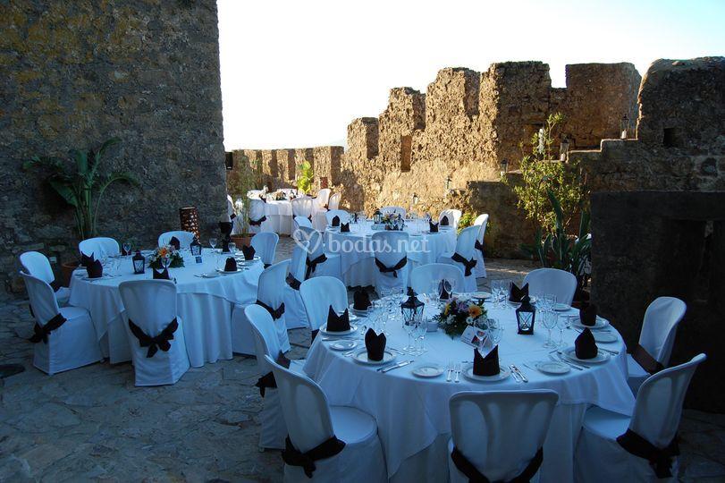 Terraza-Jazz La Barbacana para celebración de bodas