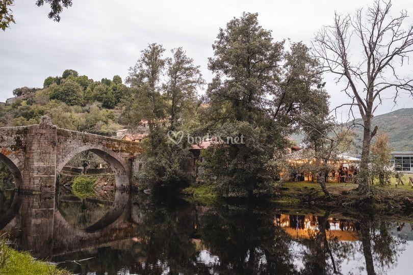 Vista del local desde el puente