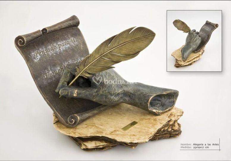 Escultura: Escribe tu historia