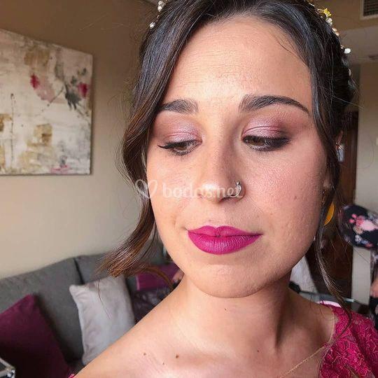 Maquillaje de invitada