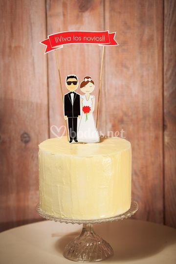Cake topper personalizado