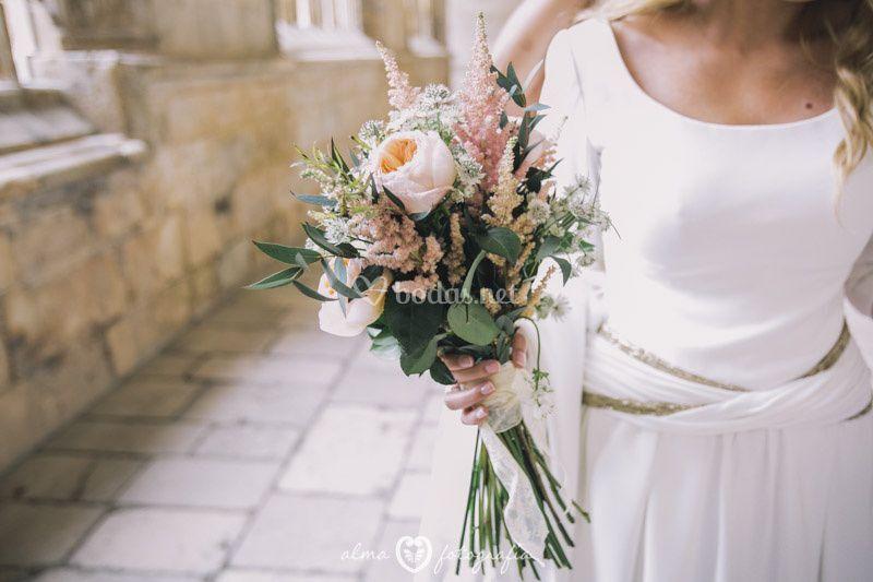 Alma Fotografía - ramo novia