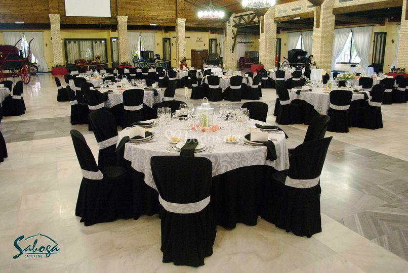 Mesas de bodas de Saboga Catering Foto 14