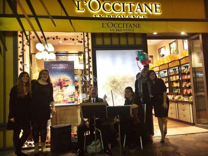 Evento en L'Occitane