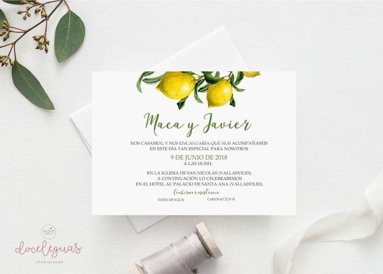 Invitación Limonero
