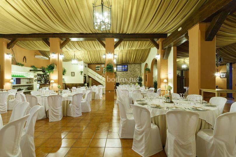 Finca alborea for Decoracion salon boda