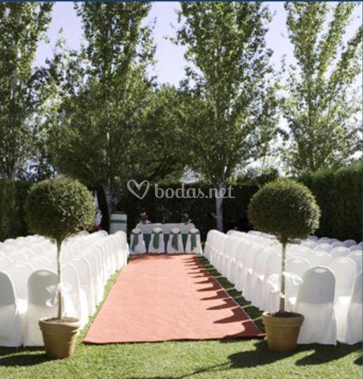 Ceremonias en jardín