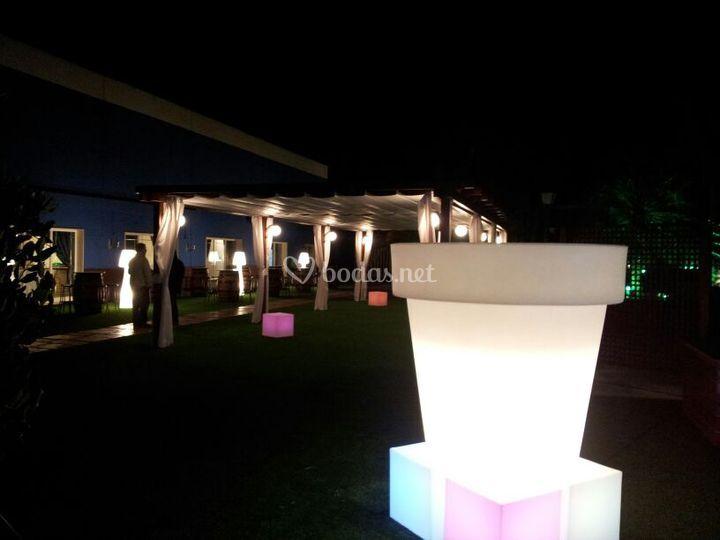 Sal n de celebraciones media luna for Acuario salon de celebraciones