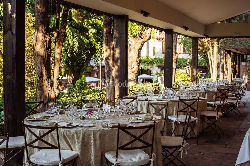 Mesas banquete HdC