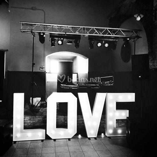 Luz, sonido & love