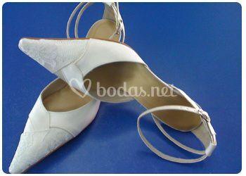 Zapatos de boda únicos