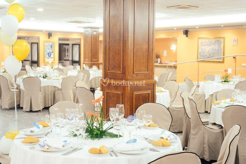 Hotel santa rosa for Acuario salon de celebraciones