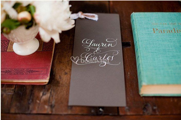 Iris Calligraphy